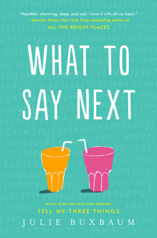 What to Say Next book cover