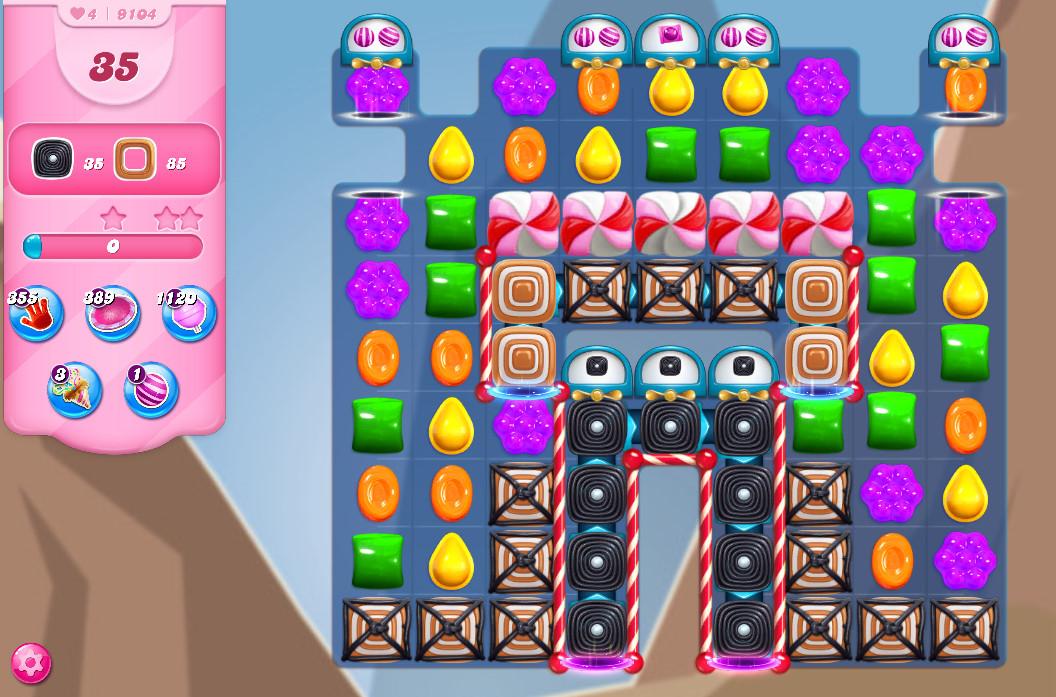 Candy Crush Saga level 9104