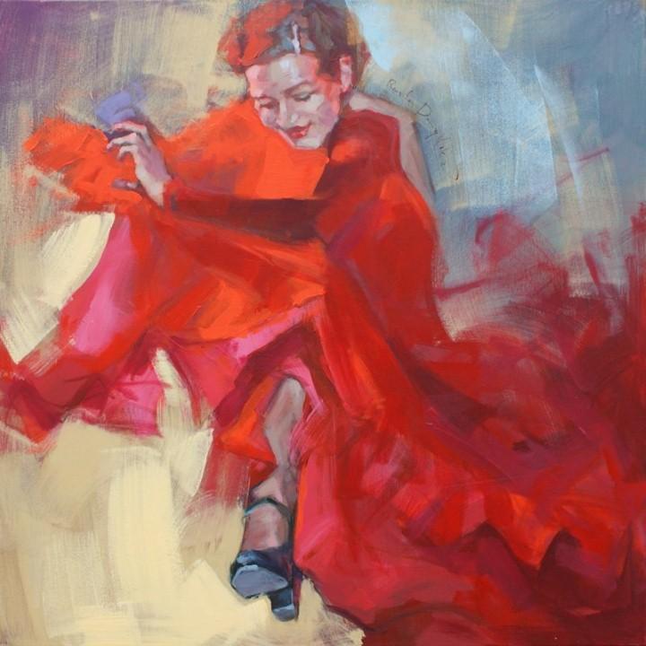 Энергичные картины художницы Renata Domagalska 13