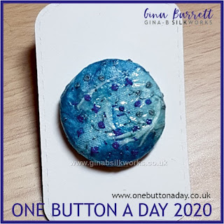 One Button a Day 2020 by Gina Barrett - Day 167 : Ebb