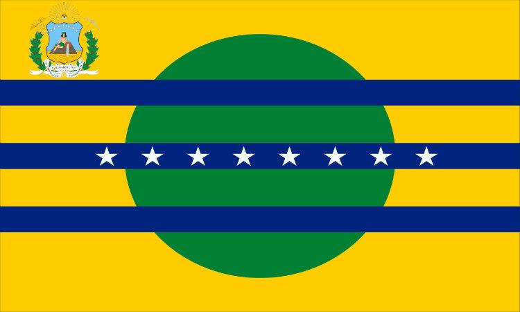 Bandera del estado Bolívar