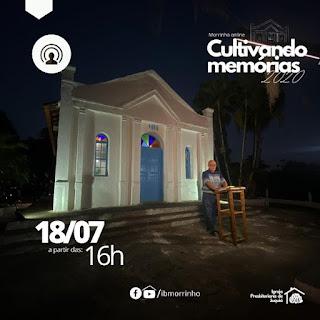 Morrinho On-line cultivando memórias 2020 neste 18/07
