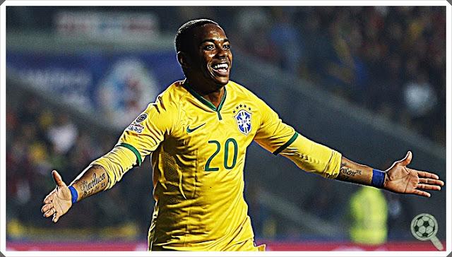 Robinho Seleção Brasileira 2016