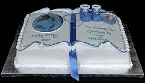 Modelo de bolo de batizado