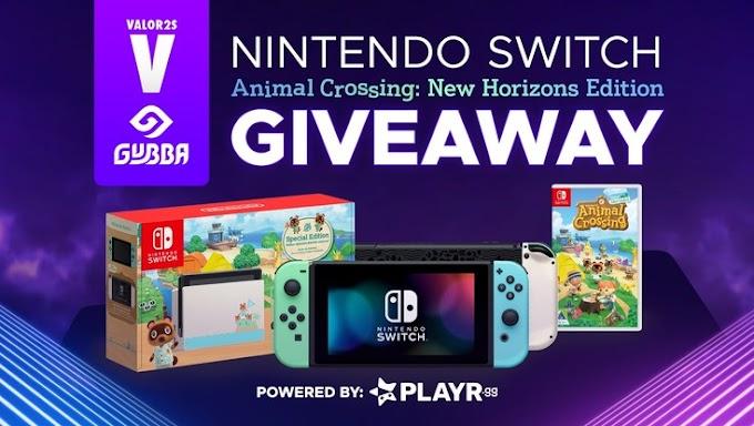 Sorteio do Video Game Nintendo Switch Edição Especial Animal Crossing New Horizons!