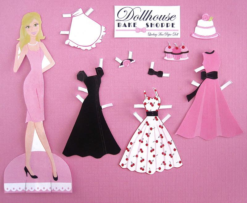 Lindsay Ann Paper Doll Set {Free Printable} - The Lindsay Ann