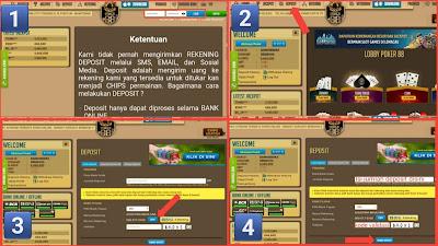 Cara deposit dan withdraw di situs poker88 asia