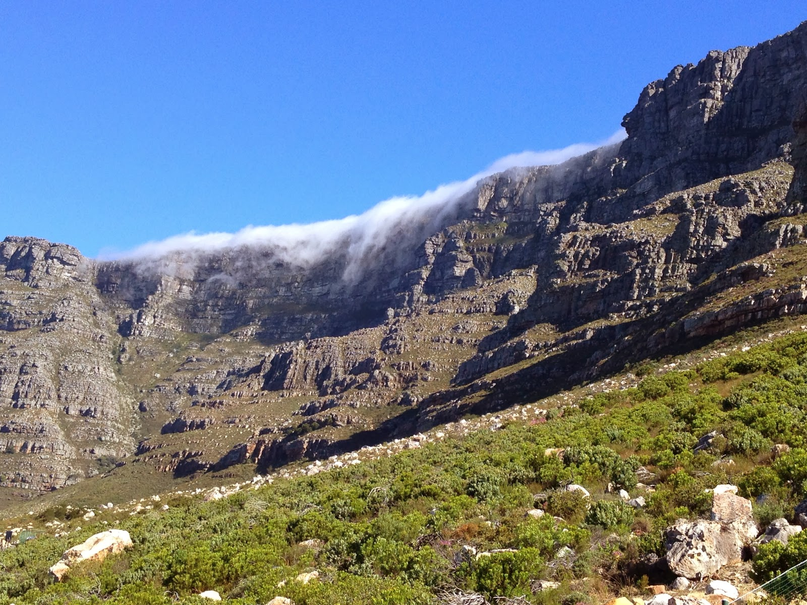 Cape Town - Heading up to Table Mountain