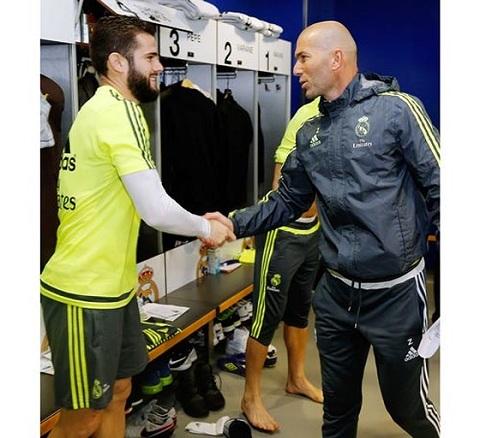 Nếu Nacho ra đi, sẽ là vấn đề lớn với HLV Zidane.