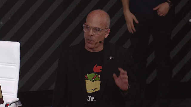 Doug Bowser at Nintendo Super Smash Bros. Ultimate World Championships 2019 Bowser Jr. shirt