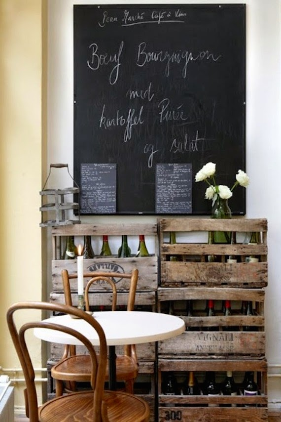 Marvi Blog Cocinas Decoradas Con Paredes De Pizarra - Pizarra-decoracion-pared