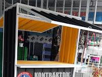 Bengkel Las Cilegon: Jasa Pembuatan Stand Jualan Both Baja Ringan Cilegon