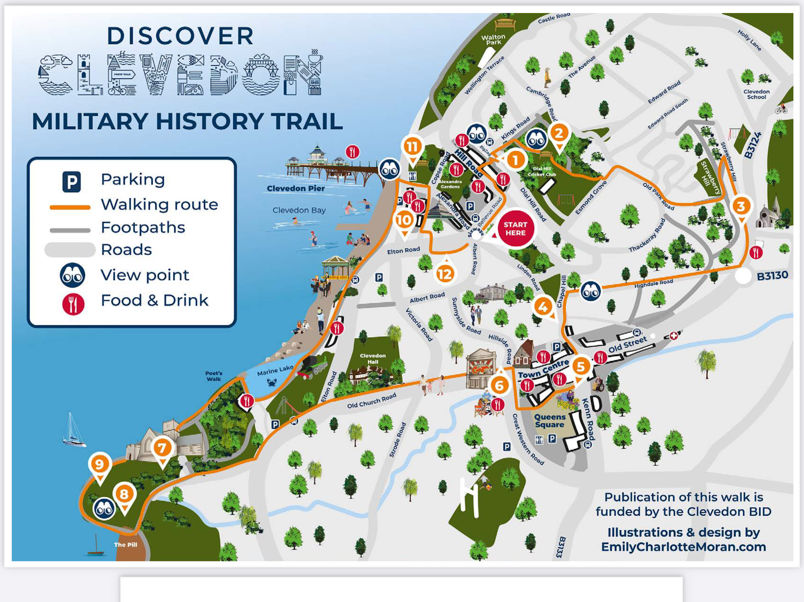 Clevedon Military History Walk