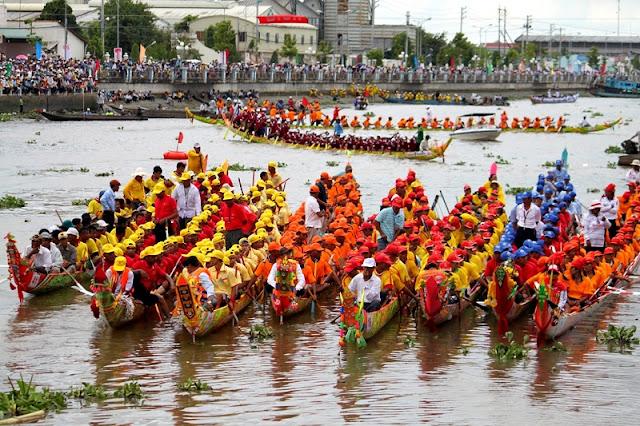 Om-oc-boc Festival of Khmer people