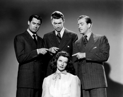 Publicity Photo with Cary Grant Jimmy Stewart and Katharine Hepburn in Philadelphia Story