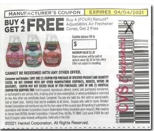 renuzit coupon