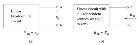 thevenin theorem electric circuit analysis