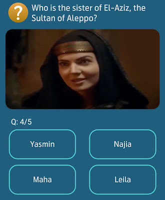 Who is the sister of El-Aziz the Sultan of Aleppo?