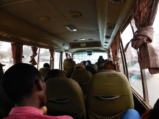 Autobús Riverside Nairobi a Arusha