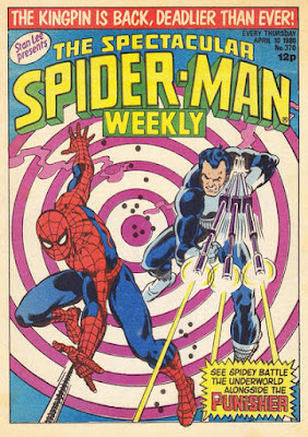 Spectacular Spider-Man Weekly #370, the Punisher