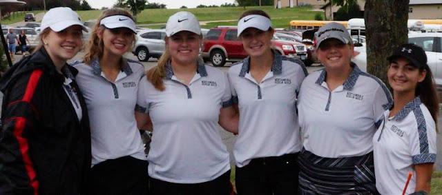 Metamora Girls Golf Place 4th at Eastland Invite