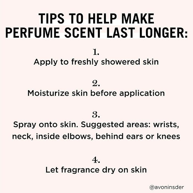 Tips to make your perfume last longer...