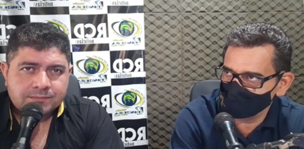 Prefeito eleito de Roncador, Vivaldo Lessa, participa de entrevista na Rádio Princesa