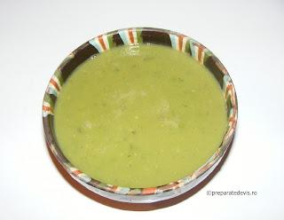 Supa crema de mazare reteta,