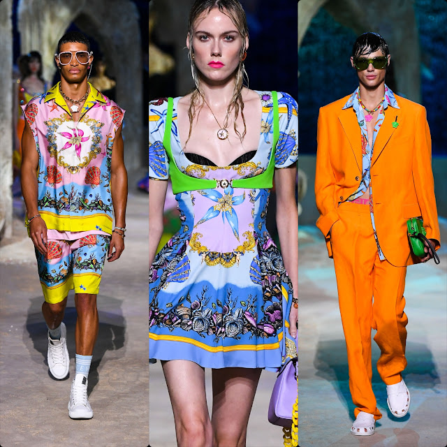 Versace Spring Summer 2021 by RUNWAY MAGAZINE