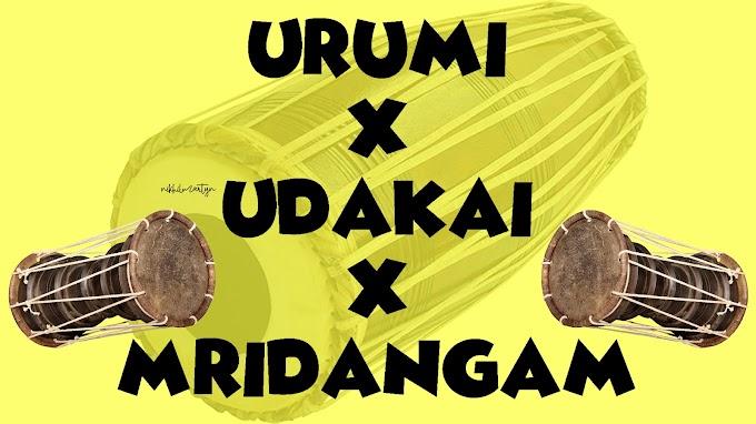 URUMI X UDAKAI X MRIDANGAM | SAMPLE PACK | DJ NIKHIL MARTYN