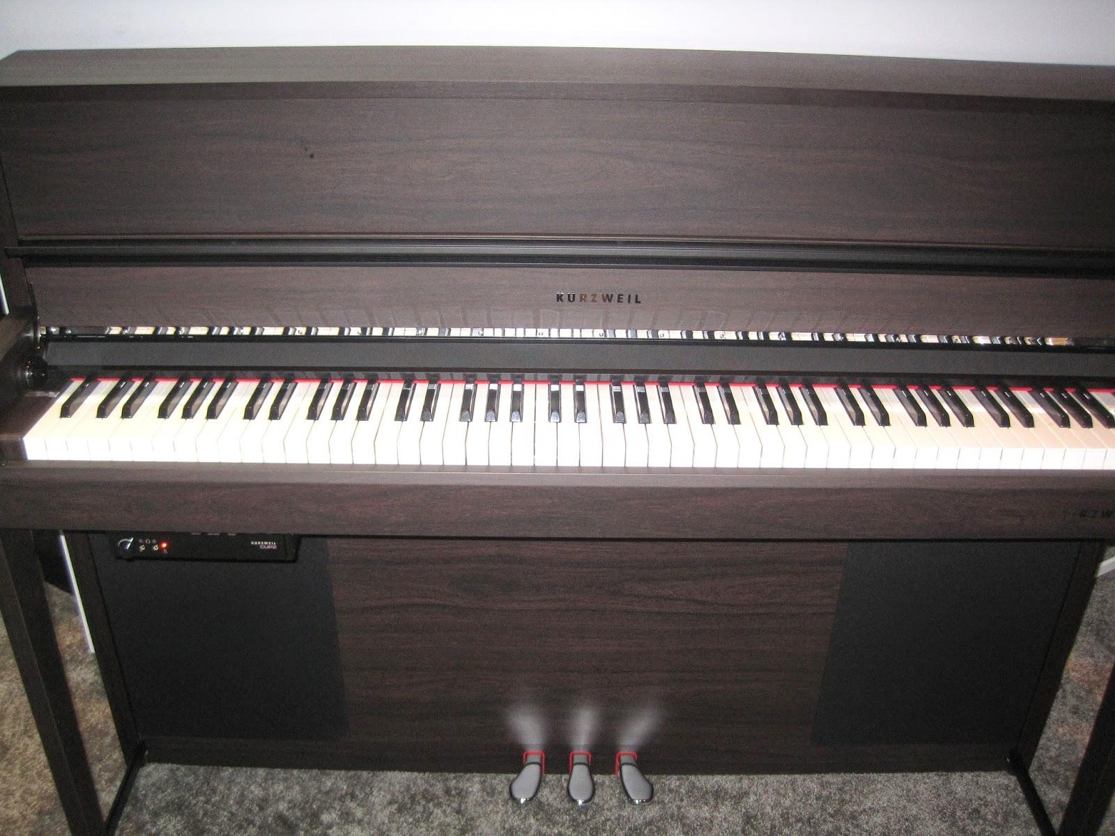 Kurzweil CUP2 digital piano rosewood