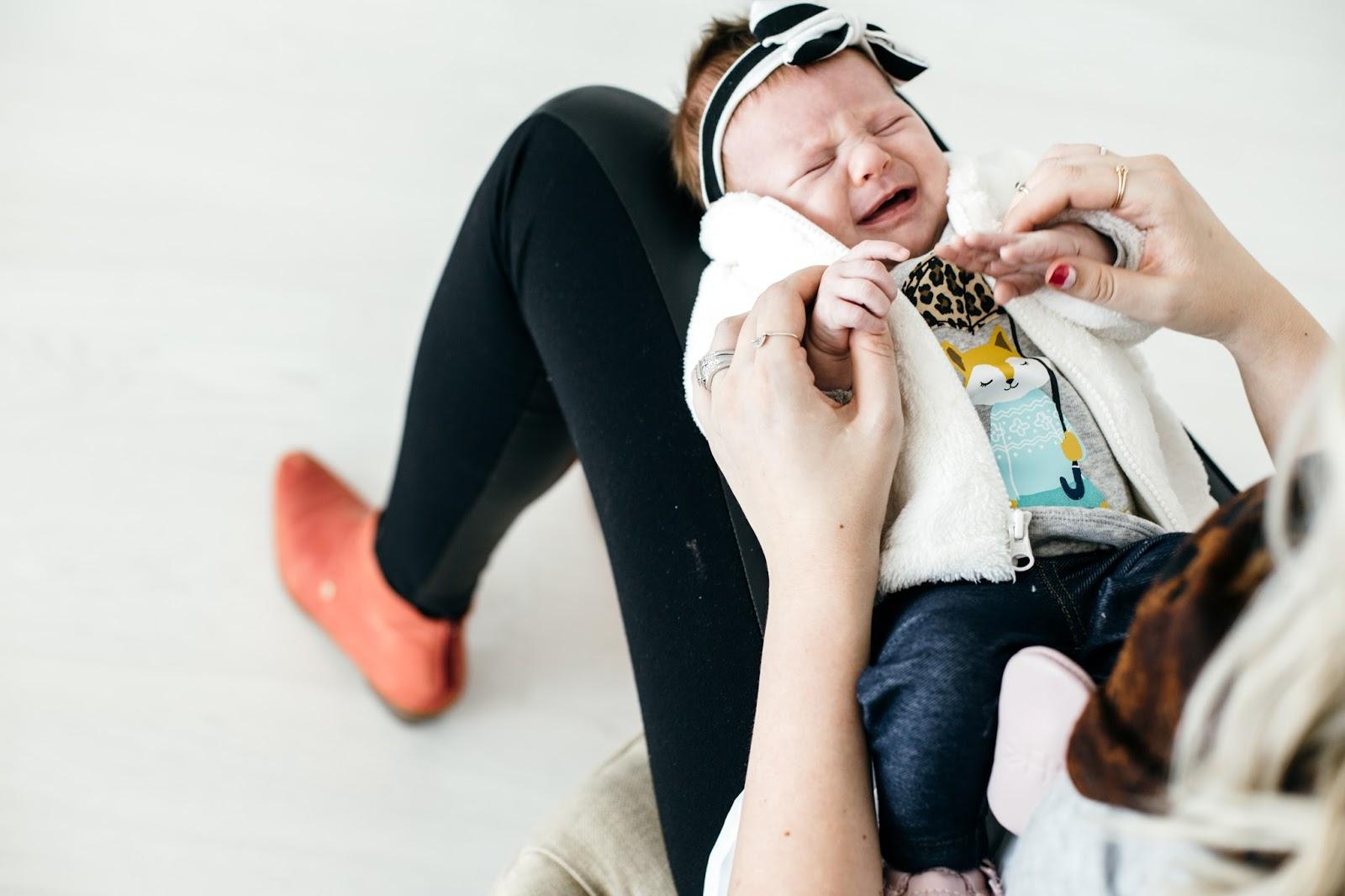 Leather Leggings, Baby Style, Utah Fashion Blogger