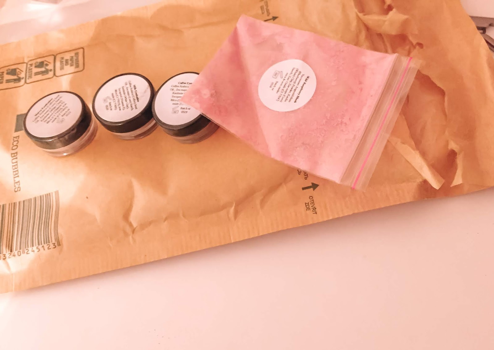 VyanaPlantBeauty Zero Waste eyeshadow Sample Kit Trio in a post about my 2020 no buy challenge February update.