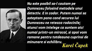 Maxima zilei: 9 ianuarie - Karel Čapek