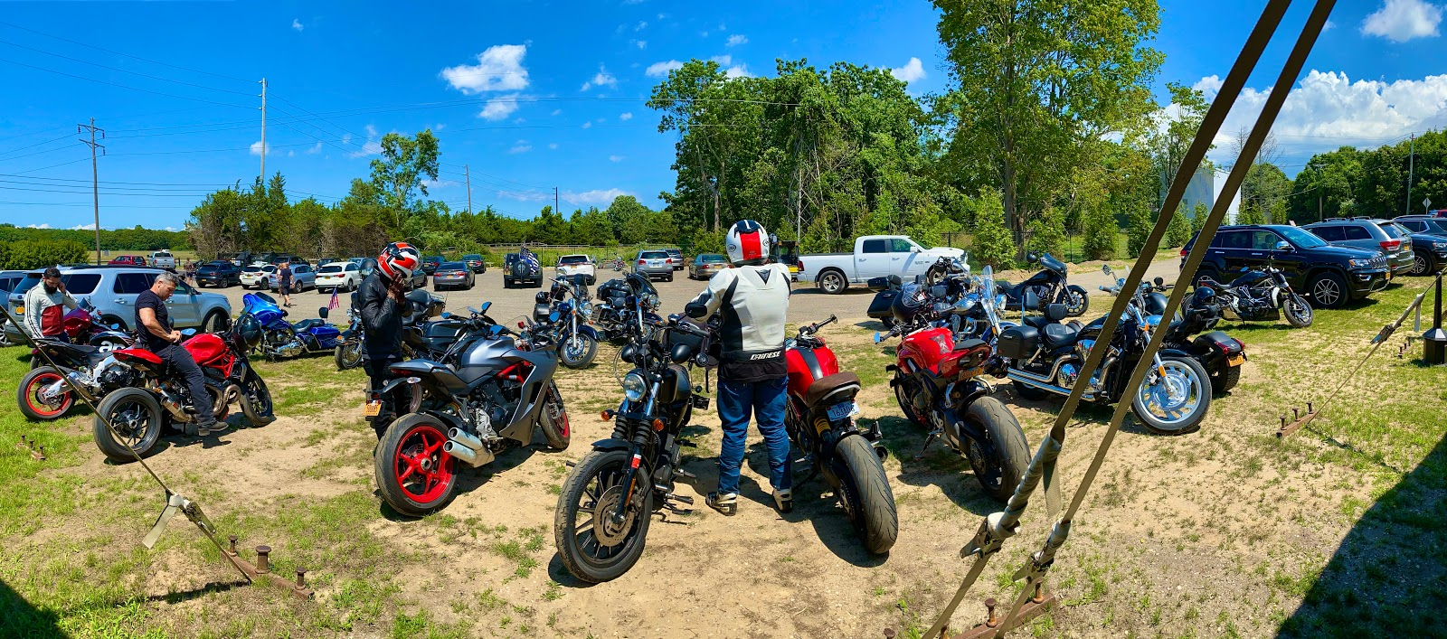 Ducs Summer North Shore July Ride