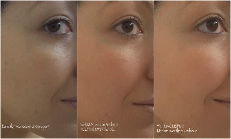 mac cosmetics foundations