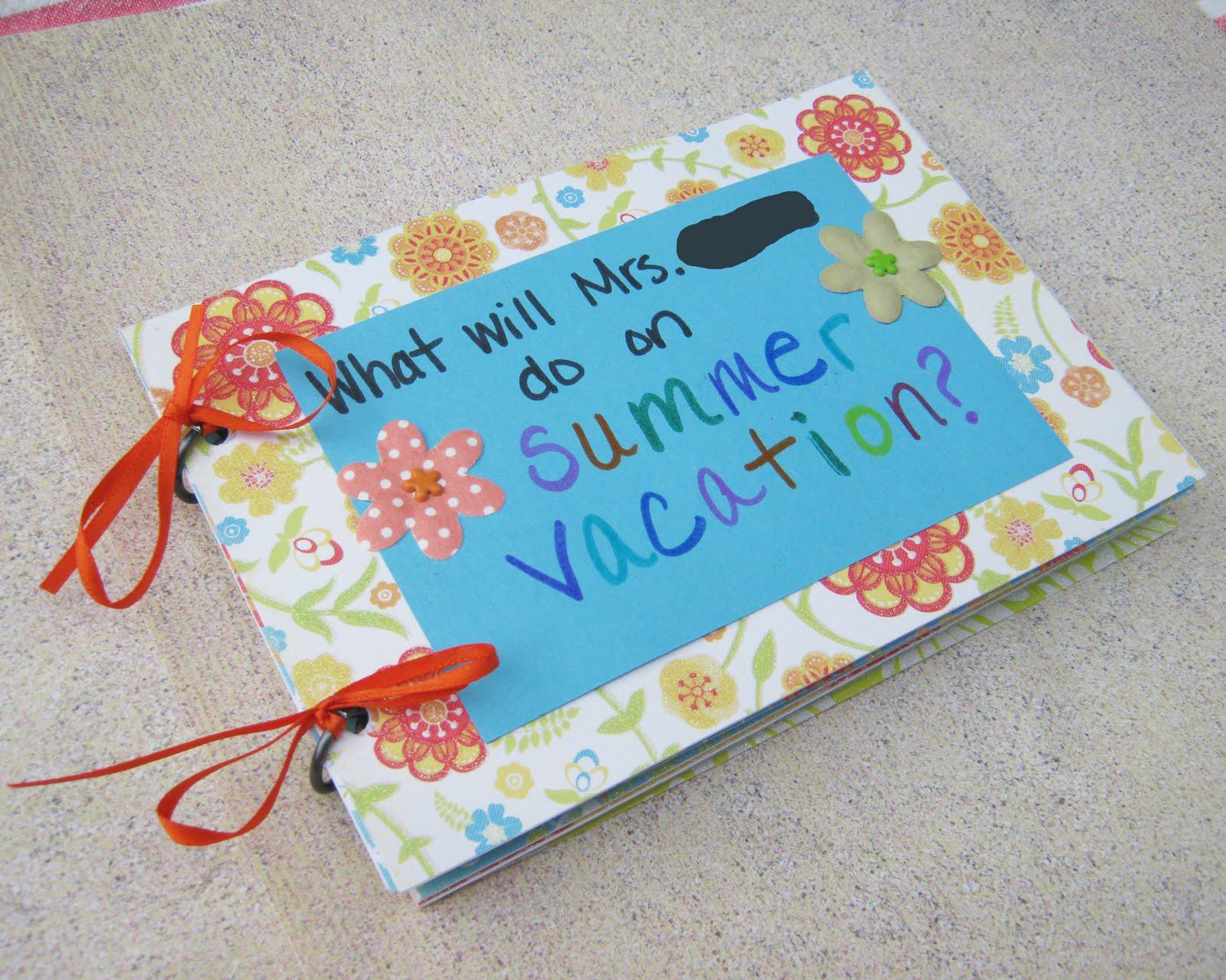 End of year preschool teacher gift. | Ideas for the Kids ... |Preschool Teacher Gifts Books