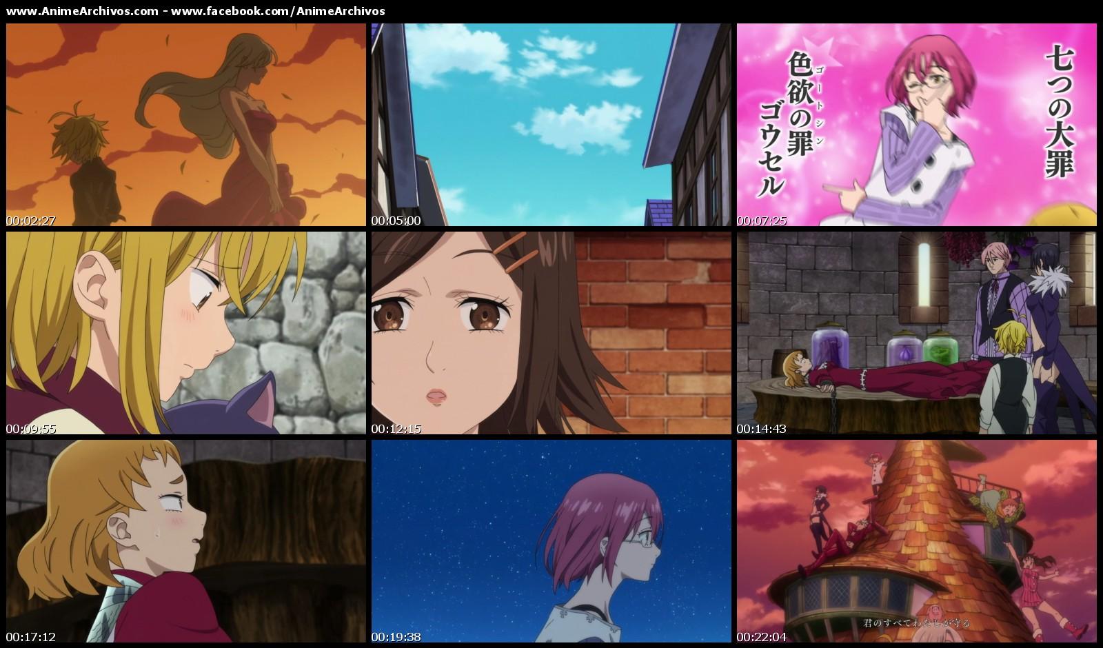 Resultado de imagen para Nanatsu no Taizai: seisen no shirushi capturas