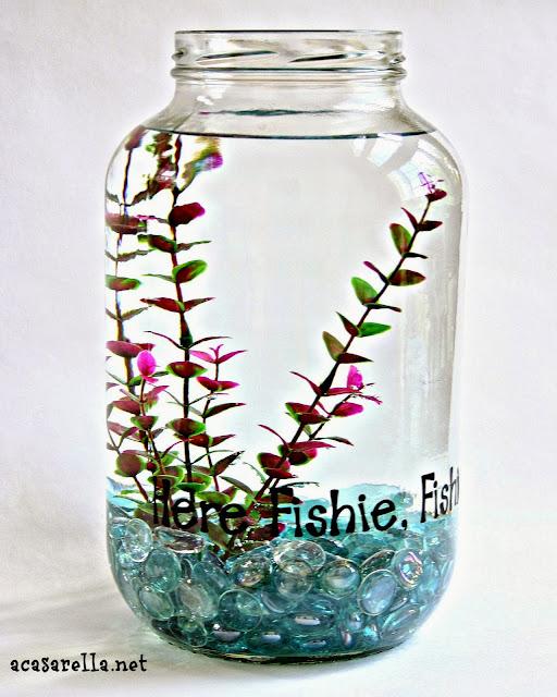 Pickle Jar Fish Bowl A Casarella