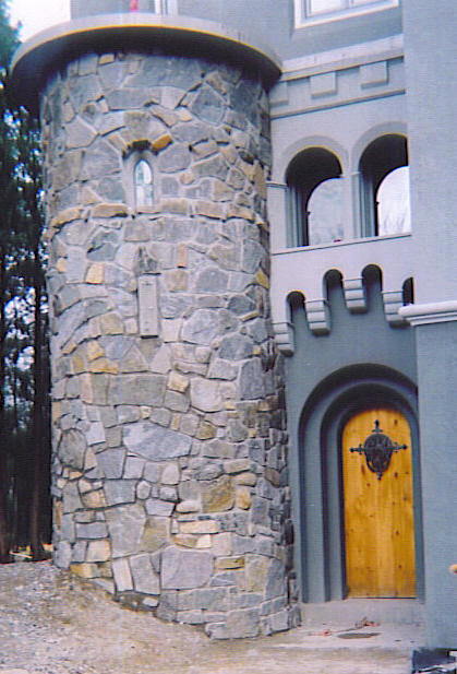Building An Adirondack Castle Let There Be A Stone Turret