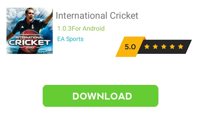 How to Download International Cricket 2010 0n Android