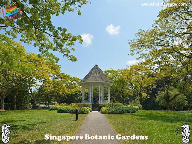 Activities you do at Singapore Botanic Garden