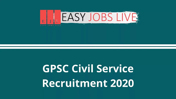 GPSC Civil Service Recruitment 2020