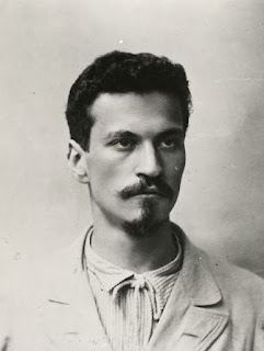 Battisti as a student in Florence, where he became drawn to the irredentist movement