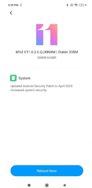 Check Manually For Update On Redmi Phone