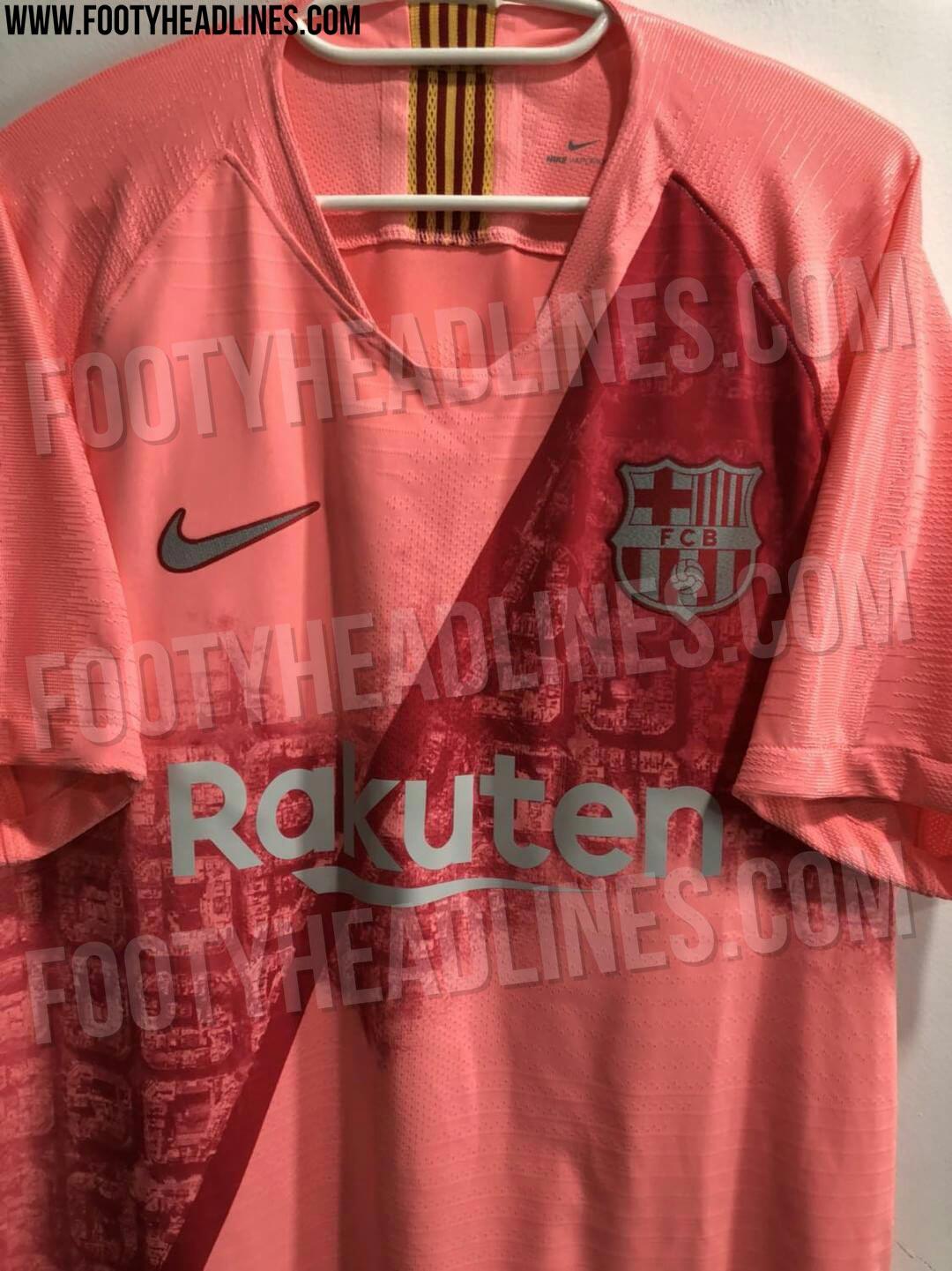59b7d1eb6 Nike FC Barcelona 18-19 Third Kit Leaked - Sports kicks