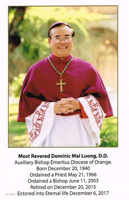 Hình ảnh thánh lễ an táng Đức Cha Dominicô Mai Thanh Lương - Ảnh minh hoạ 2