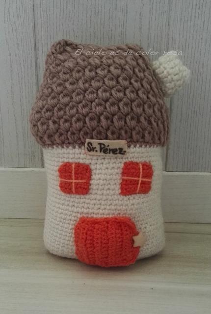 casa raton perez ganchillo crochet