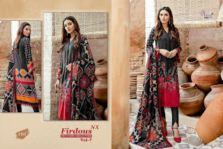 Shree Fab Firdous Vol 7 Nx Exclusive Collection