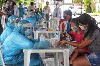 Cinco municípios concentram 78% dos casos de covid-19 em toda a Paraíba